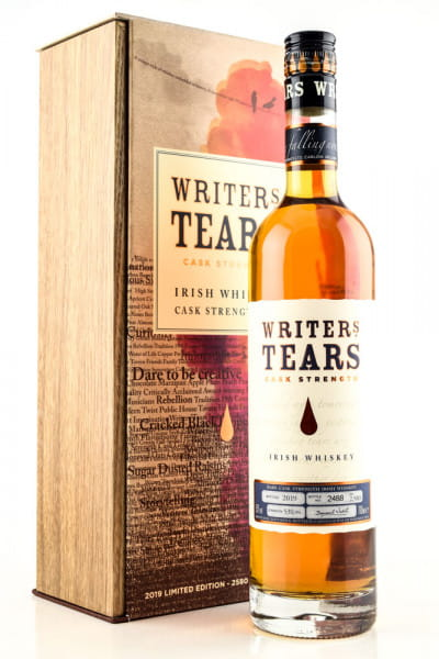 Writers Tears Cask Strength 2019 53%vol. 0,7l