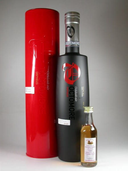 Octomore Orpheus Edition: 02.2_140 5 Jahre 140ppm 61%vol. Sample 0,05l