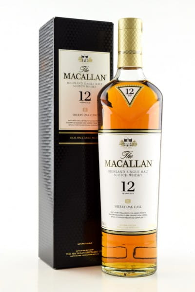 Macallan 12 Jahre Sherry Oak Cask 40%vol. 0,7l