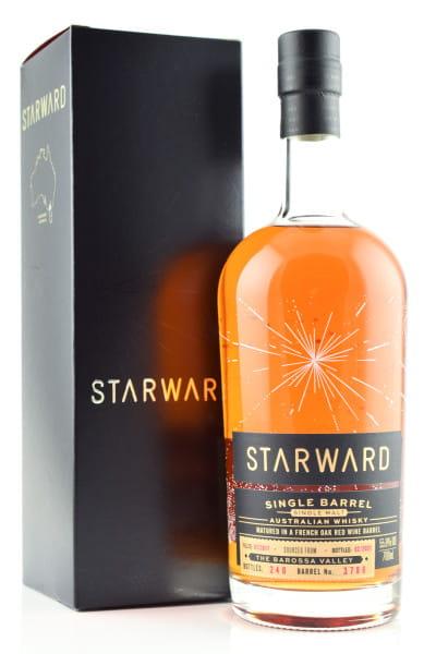 Starward 3 Jahre 2017/2021 French Oak Red Wine Barrel #3786 55,8%vol. 0,7l