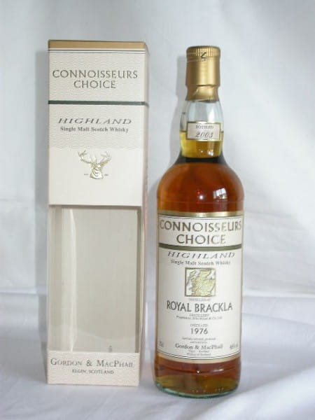 Royal Brackla 1976/2003 Gordon & MacPhail Conn. Ch. 46%vol. 0,7l