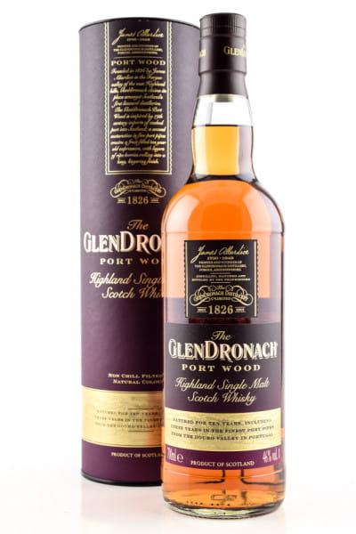 Glendronach Port Wood 46%vol. 0,7l
