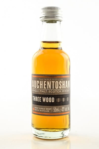 Auchentoshan Three Wood 43%vol. 0,05l