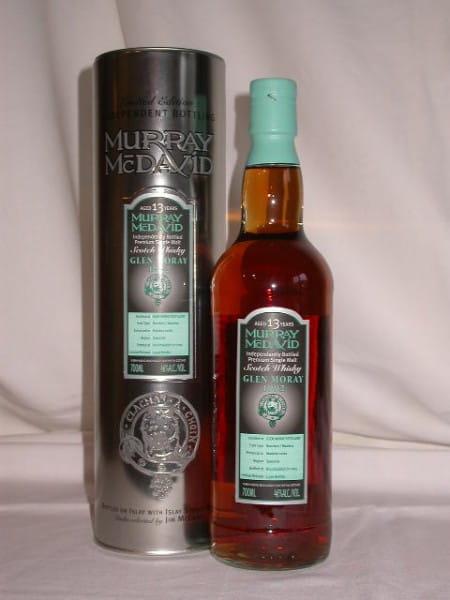 Glen Moray 1992/2005 Bourbon/Madeira Murray McDavid 46%vol. 0,7l