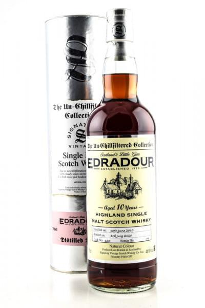 Edradour 10 Jahre 2010/2020 Single Cask #155 Signatory 46%vol. 0,7l