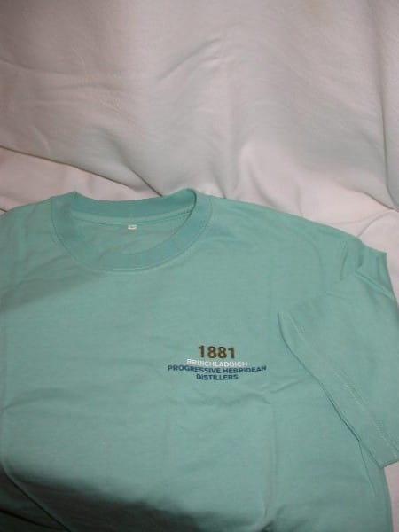 Bruichladdich Progressive Distillers T-Shirt Gr. XL