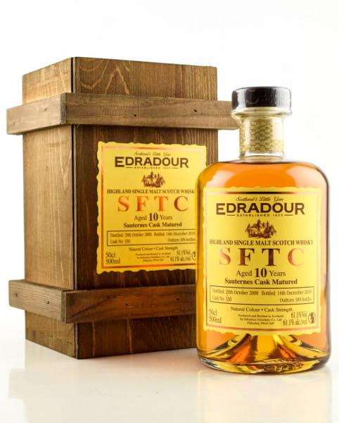 Edradour 10 Jahre 2008/2018 SFTC Sauternes Cask Matured #330 61,1%vol. 0,5l