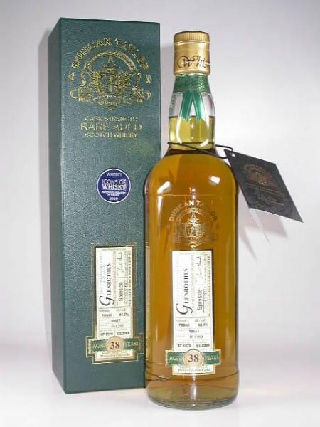 Glenrothes 38 Jahre 1970/2009 Rare Auld Duncan Taylor 42,3%vol. 0,7l