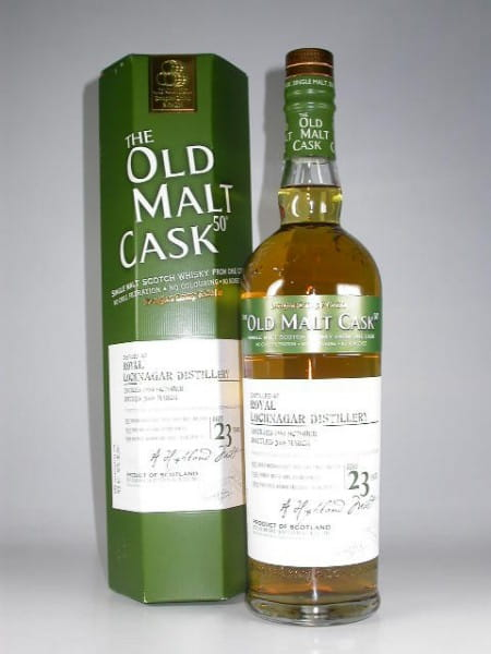 """Royal Lochnagar 23 Jahre 1984/2008 Douglas Laing """"Old Malt Cask"""" 50%vol. 0,7l"""