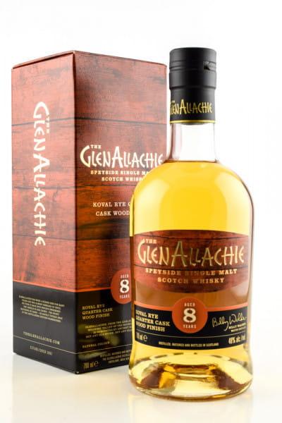 GlenAllachie 8 Jahre Koval Rye Quarter Cask 48%vol. 0,7l