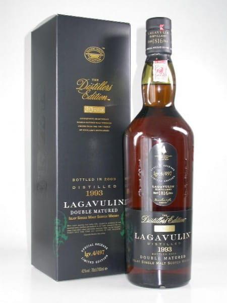 Lagavulin 1993/2009 Distillers Edition 43%vol. 0,7l
