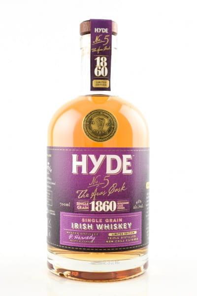 Hyde No. 5 The Aras Cask Burgundy Finish 46%vol. 0,7l