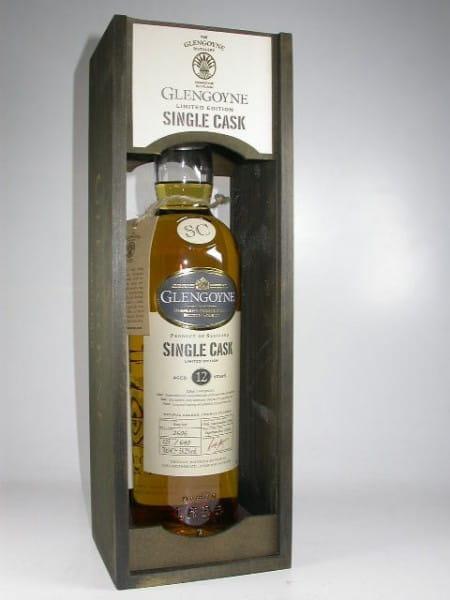 Glengoyne 12 Jahre 1996/2008 Sherry Butt Single Cask 58,2%vol. 0,7l