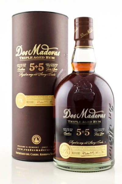 Dos Maderas PX 5+5 Jahre Rum 40%vol. 0,7l