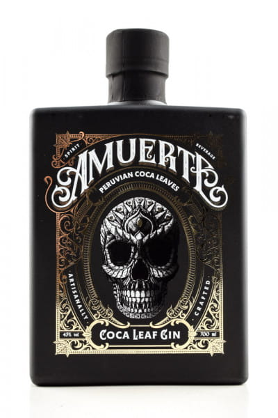 Amuerte Coca Leaf Gin 43%vol. 0,7l