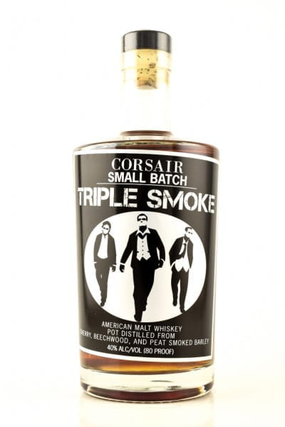 Corsair Triple Smoke Malt Whiskey 40%vol. 0,7l