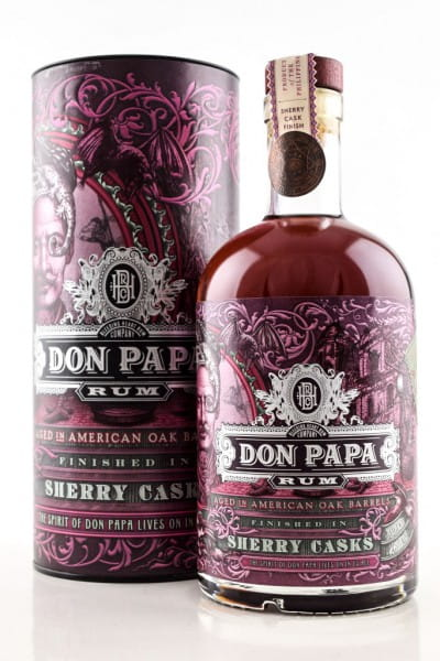 Don Papa Finished in Sherry Casks 45%vol. 0,7l