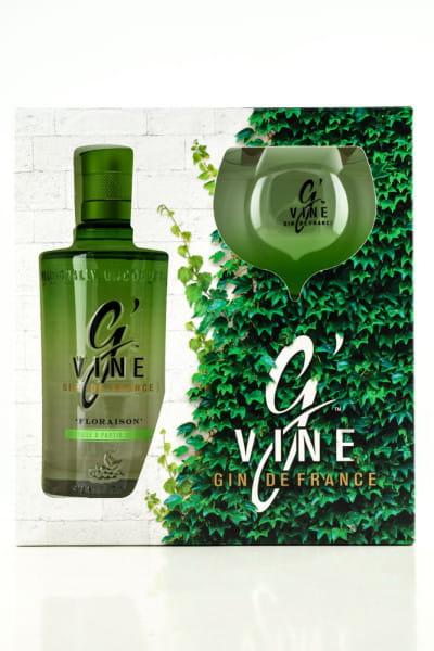 G' Vine Floraison Gin 40%vol. 0,7l - mit Copa-Glas