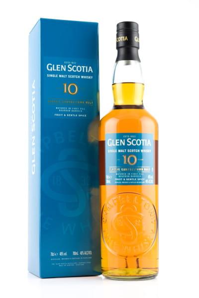 Glen Scotia 10 Jahre Unpeated 40%vol. 0,7l