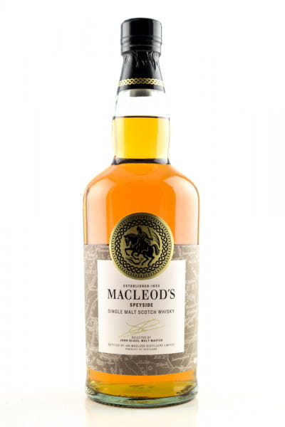 MacLeod's Speyside Single Malt Whisky 40%vol. 0,7l