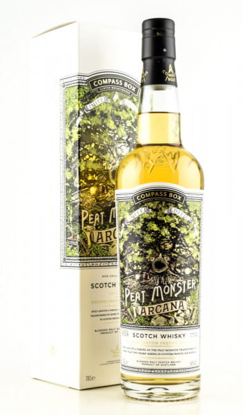 The Peat Monster Arcana Compass Box 46%vol. 0,7l