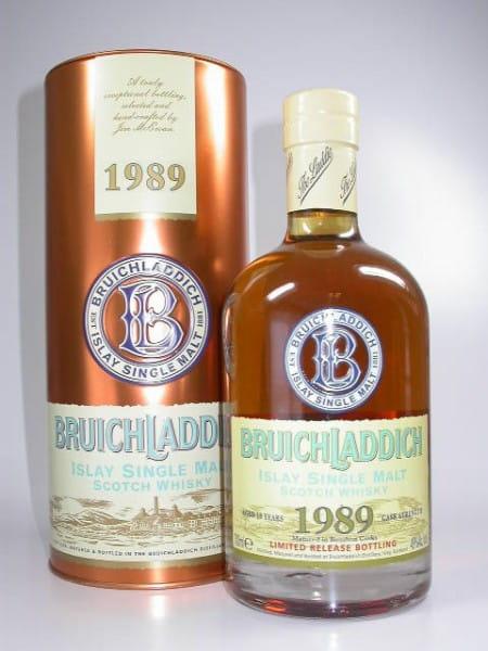Bruichladdich 18 Jahre 1989/2008 Bourbon Cask Strength 49%vol.Sample 0,05l