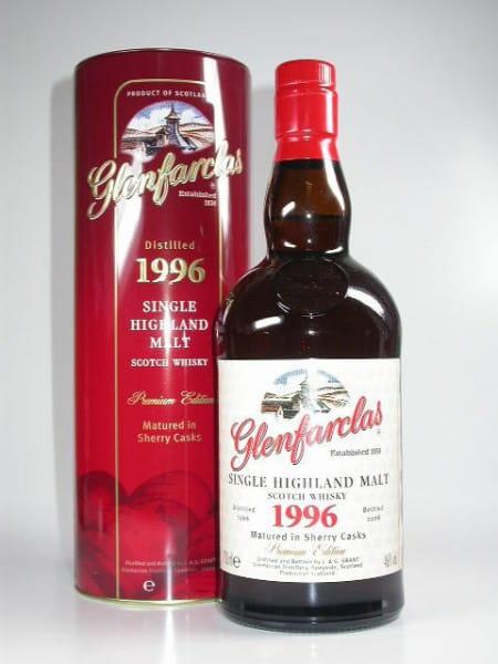 Glenfarclas 1996/2008 Sherry Casks 46%vol. 0,7l