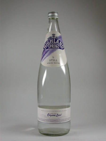Highland Spring Natural Mineral Water still 1,0l - Wasser