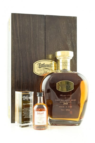 Littlemill 25 Jahre Private Cellar Edition 2015 50,4%vol. 0,7l + Mini 0,05l