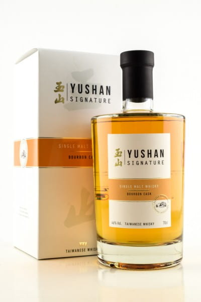 Yushan Signature Bourbon Cask 46%vol. 0,7l