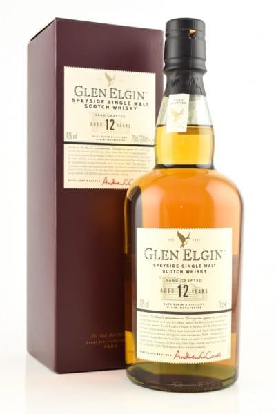 Glen Elgin 12 Jahre 43%vol. 0,7l