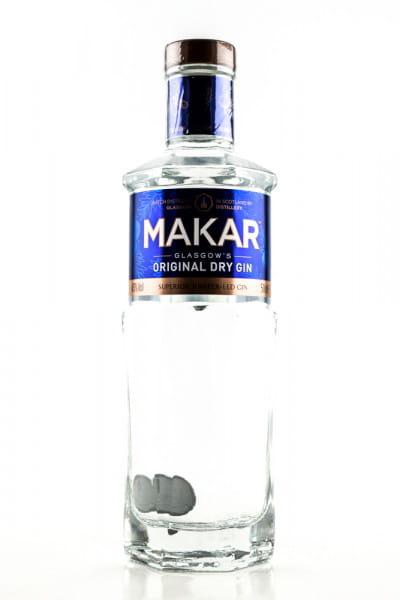 Makar Glasgow's Original Dry Gin 43%vol. 0,5l