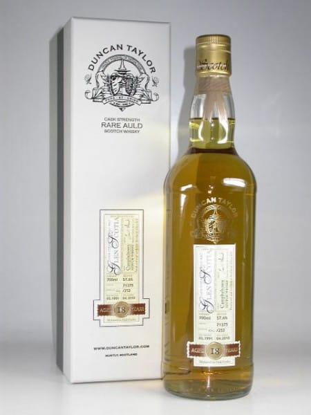 Glen Scotia 18 Jahre 1991/2010 Rare Auld Duncan Taylor 57,6%vol. 0,7l