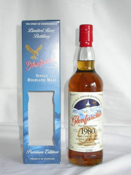 Glenfarclas Christmas 1980/2004 Port Pipes Selection 46%vol. 0,7l