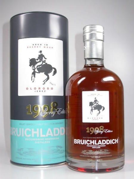Bruichladdich 1998/2008 Oloroso Sherry Cask 46%vol. 0,7l