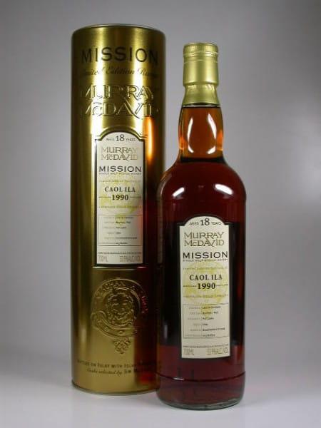 Caol Ila 1990/2008 Murray McDavid Gold Series 53,9%vol. 0,7l