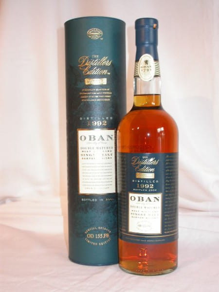 *Oban 1992/2006 Distillers Edition 43%vol. 0,7l