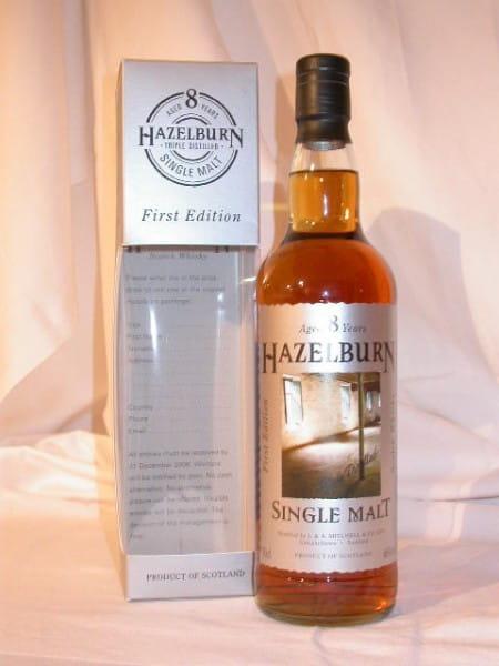 "Hazelburn 8 Jahre 97/05 1st Edition ""Malting Floor"" 46%vol. 0,7l"