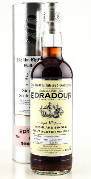 Edradour 10 Jahre 2010/2020 Single Cask #50 Signatory 46%vol. 0,7l