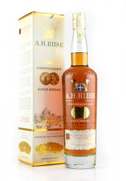 A.H. Riise 1888 Gold Medal 40%vol. 0,7l