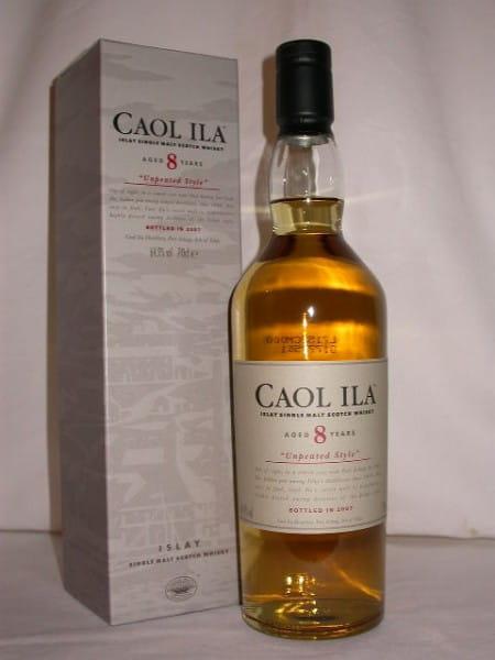 "Caol Ila 8 Jahre ""Unpeated Style"" Btl. 2007 64,9%vol. 0,7l"