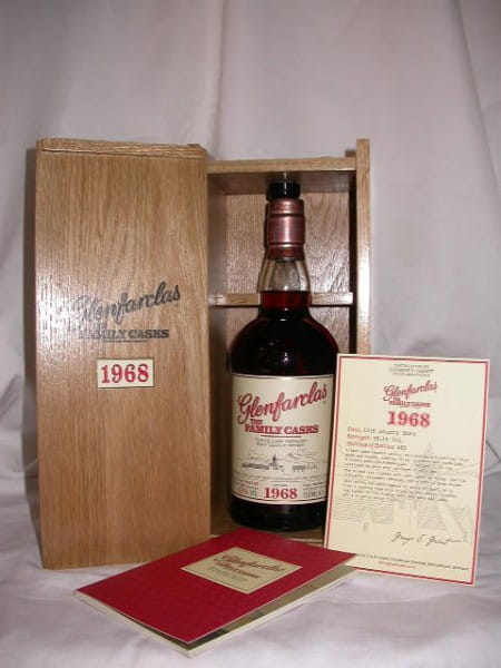 "Glenfarclas ""The Family Casks"" 1972 Cask No.3546 Sherry Butt 51,1%vol.0,7l"