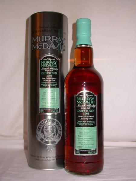 *Dufftown 1993/2007 Bourbon/Syrah Murray McDavid 46%vol. 0,7l