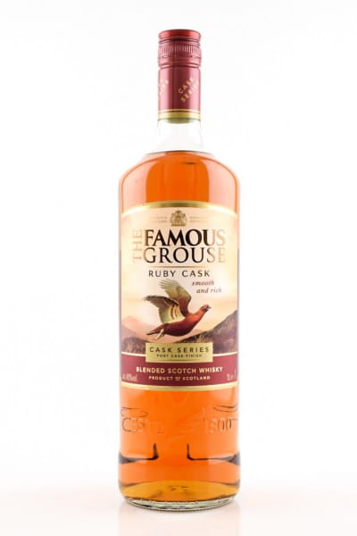 The Famous Grouse Ruby Cask 40%vol. 1,0l