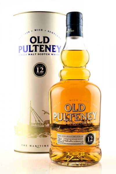 Old Pulteney 12 Jahre 40%vol. 0,7l - alte Ausstattung