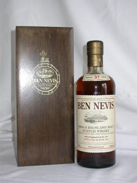 Ben Nevis 37 Jahre 1967/2004 Sherry Cask No. 2219 54,4%vol. 0,7l