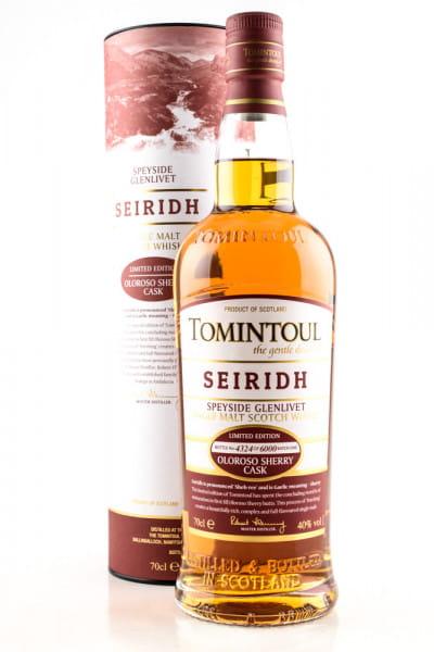 Tomintoul Seiridh Oloroso Sherry Cask Finish 40%vol. 0,7l
