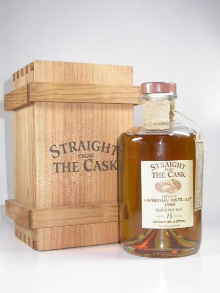 """Laphroaig 15 Jahre 88/03 Signatory """"La Maison du Whisky"""" 55,6%vol. 0,5l"""