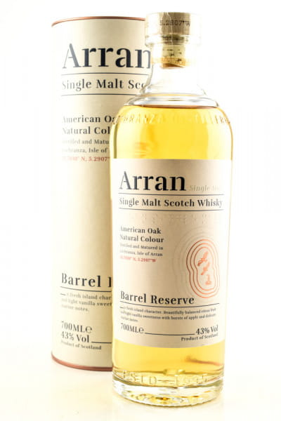 Arran Barrel Reserve 43%vol. 0,7l