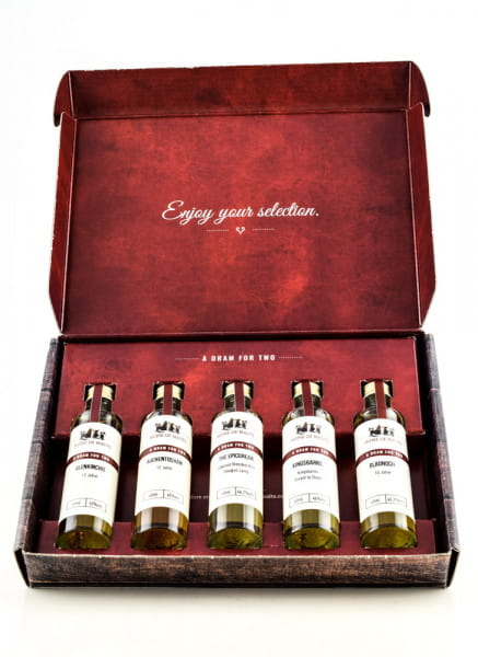 Tasting Selection Lowlands Whisky 5 x 0,04l
